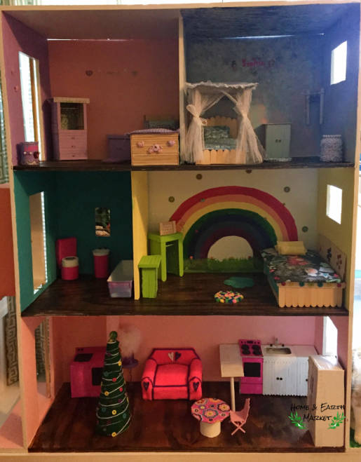 Diy Barbie House Furniture Home And Earth Market